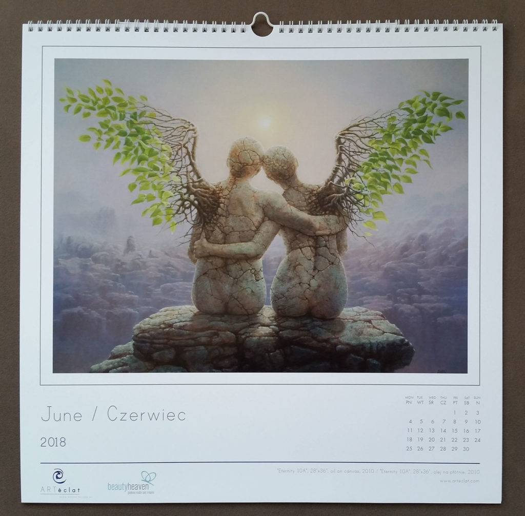 Arteclat Calendar - Tomasz Alen Kopera