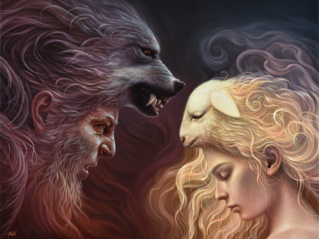 "Arteclat - ""The wolf and the lamb"" Tomasz Alen Kopera"