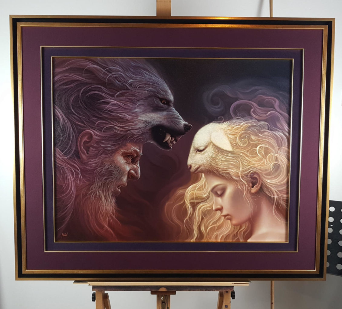 Arteclat - The wolf and the lamb - Tomasz Alen Kopera