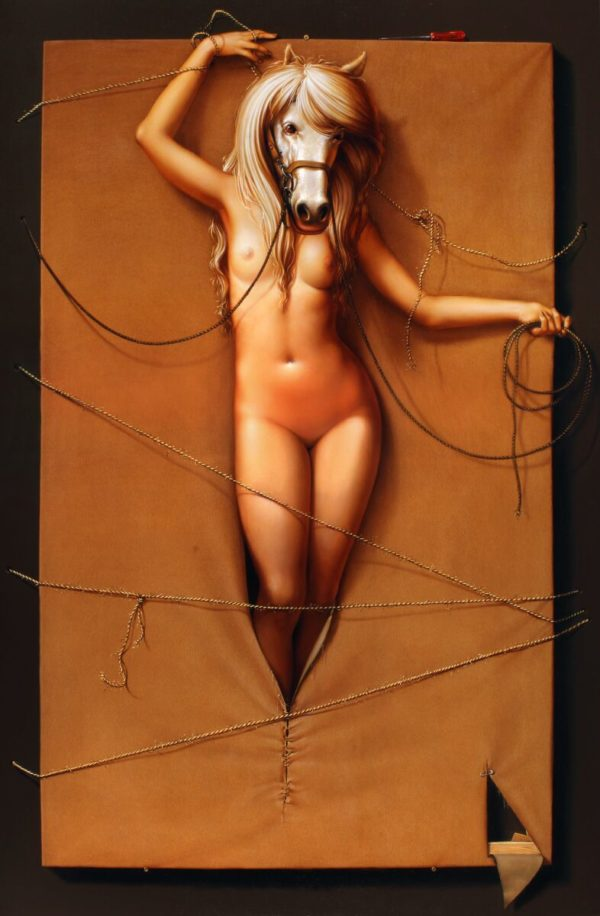 Arteclat - Geburt der Pferde-Venus - Siegfried Zademack