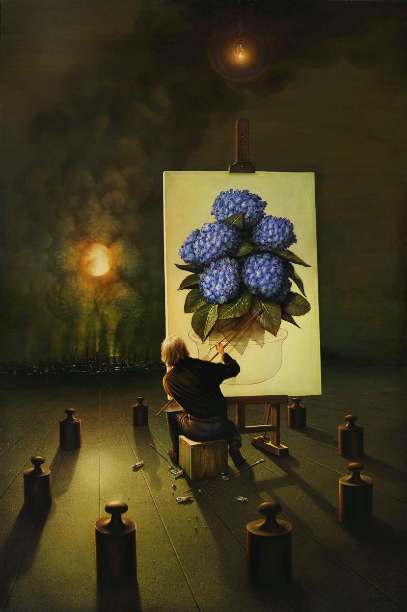 Arteclat - Maler im dunklen - Siegfried Zademack