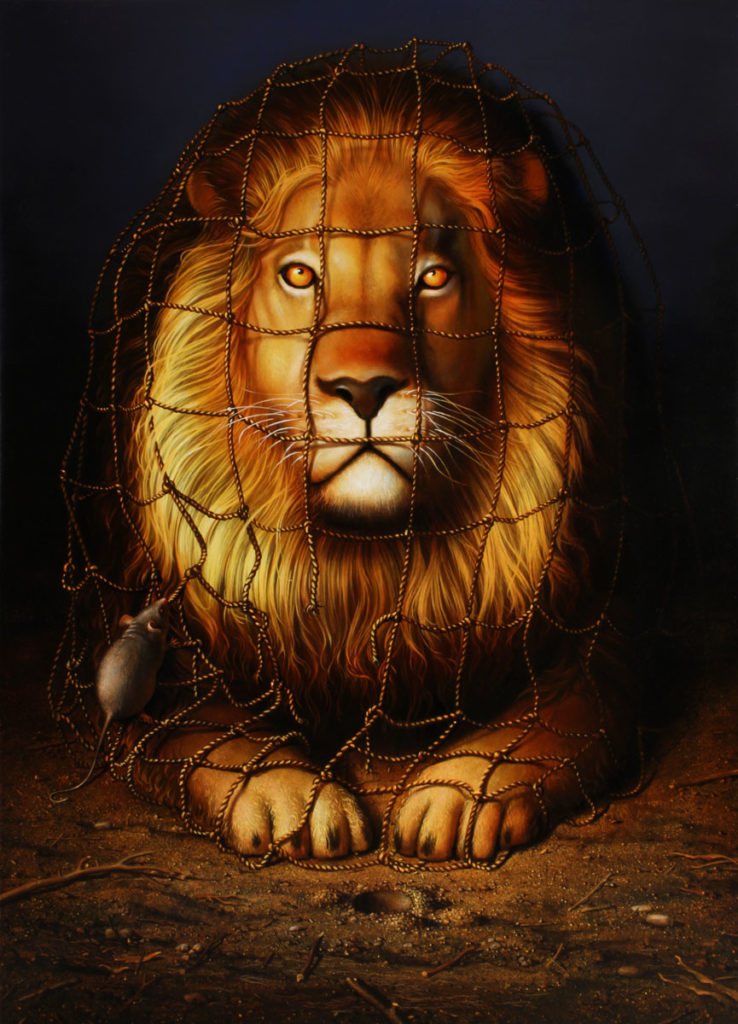 Arteclat - Der Löwe und die Maus - Siegfried Zademack